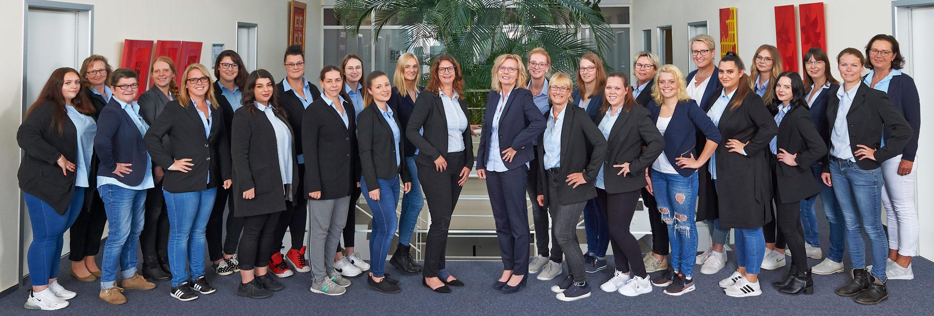 Das MediCom Service Center Teamfoto